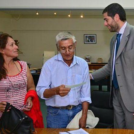 El Gobierno entregó aportes a un proyecto ganadero de Rivadavia