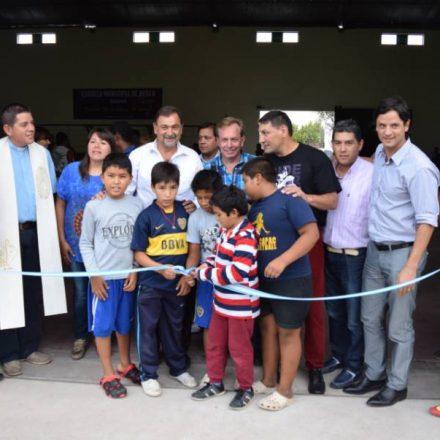 Vaqueros ya cuenta con una nueva escuela municipal de boxeo