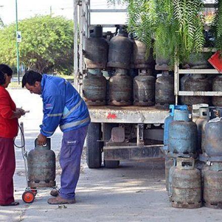 Cronograma semanal para la distribución de la garrafa social en barrios capitalinos