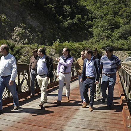 Habilitaron un puente transitorio en el paso internacional Los Toldos – La Mamora