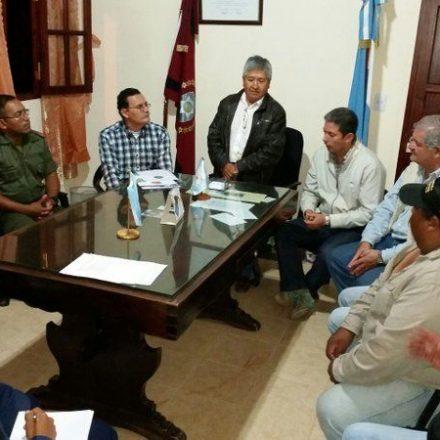 En Santa Victoria Oeste se conformó la junta municipal de Defensa Civil y Emergencia Social