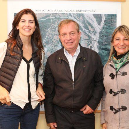 Bettina Romero visitó Vaqueros