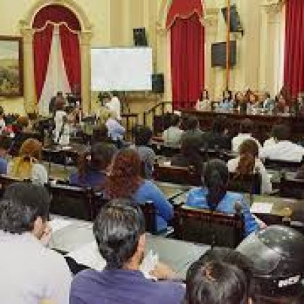 Por las PASO, no hay  actividad legislativa en Salta