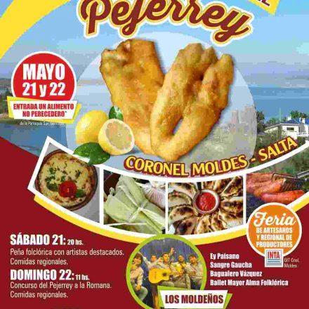 Primer Festival Gastronómico del Pejerrey en Coronel Moldes