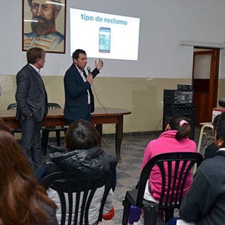 """Vaqueros sumó """"Entre Todos"""" como herramienta de comunicación con los vecinos"""