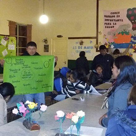 En Seclantás 60 jóvenes participaron de un taller sobre derechos humanos