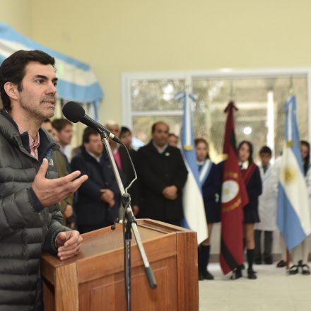Urtubey inauguró un edificio escolar modelo para el nivel secundario en La Candelaria