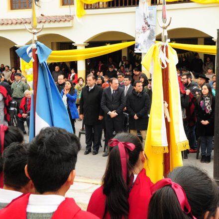 El Vicegobernador participó de las fiestas patronales de Coronel Moldes