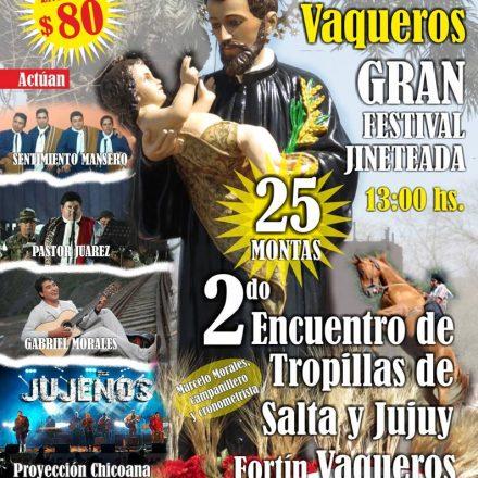 Fiesta en honor a San Cayetano en Vaqueros – Salta