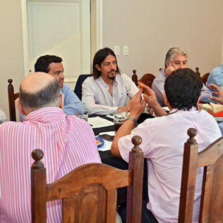 Ministros se encuentran reunidos en Hipólito Yrigoyen