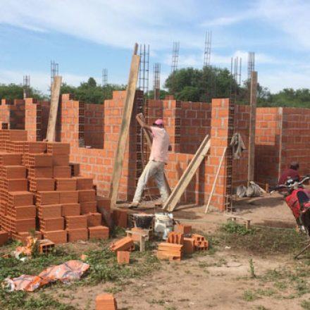 El IPV avanza con la construcción de una casa para niños en situación de vulnerabilidad