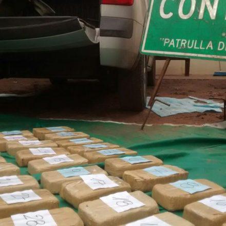 Detienen a un hombre que transportaba más de 30 kilos de cocaína