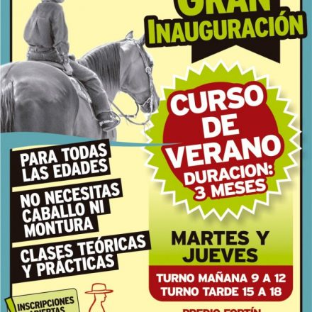 Escuela ecuestre en Vaqueros – Salta