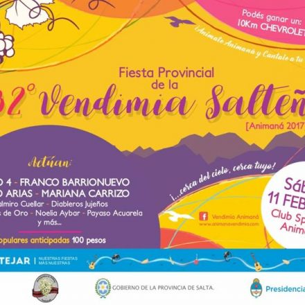 32º Fiesta provincial de la Vendimia Salteña en Animaná – Salta