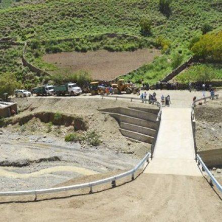 Habilitaron un nuevo puente carretero en Santa Victoria Oeste