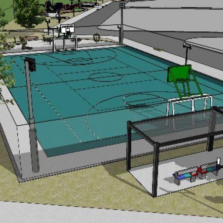 Construirán una sede deportiva y espacios verdes en el barrio San Rafael de San Lorenzo