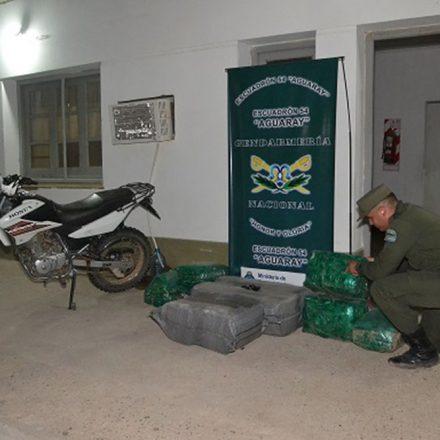 Secuestran cien kilos de hojas de coca