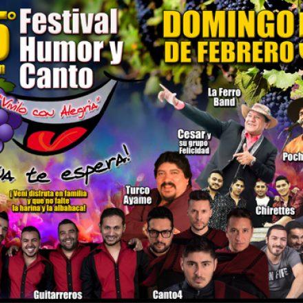 El domingo se realizará el Festival Humor y Canto en La Viña