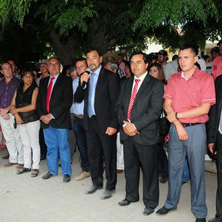 Miguel Isa participó de las fiestas patronales de La Candelaria