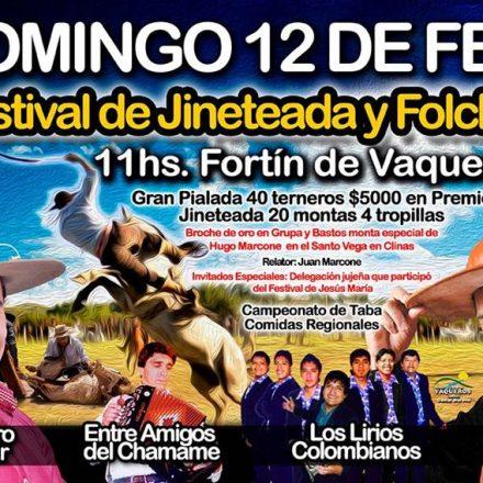 Festival de Jineteada y Folclore en VAQUEROS – SALTA