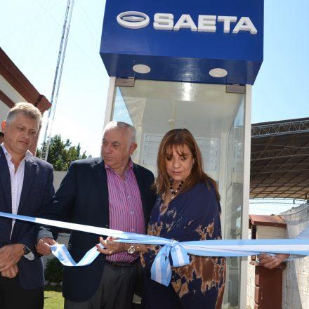 Habilitaron una terminal de recarga de Saeta en La Merced