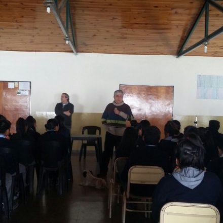 Jueces y Asesores con alumnos en Santa Victoria Oeste y Nazareno