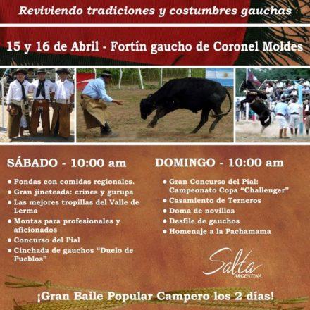 9º Festival de pialada y marcada criolla en Coronel Moldes – Salta