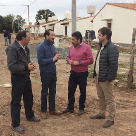 Está en la etapa final la construcción de 40 viviendas en Coronel Moldes