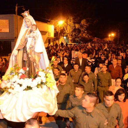 Mosconi celebró el centenario de la aparición de la Virgen de Fátima