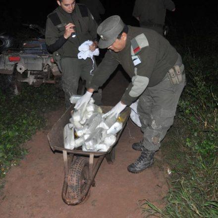 Incautan más de 20 kilos de cocaína ingresados al país por un paso no habilitado