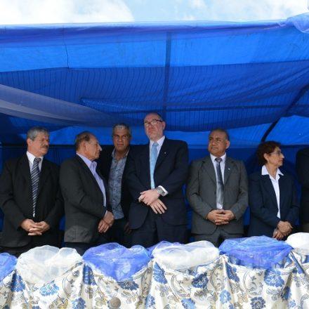 Zottos se refirió a las necesidades de la zona de frontera en el festejo patronal de Salvador Mazza