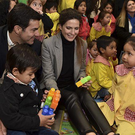«No hay sociedad que se pueda desarrollar sin pensar primero en los niños»