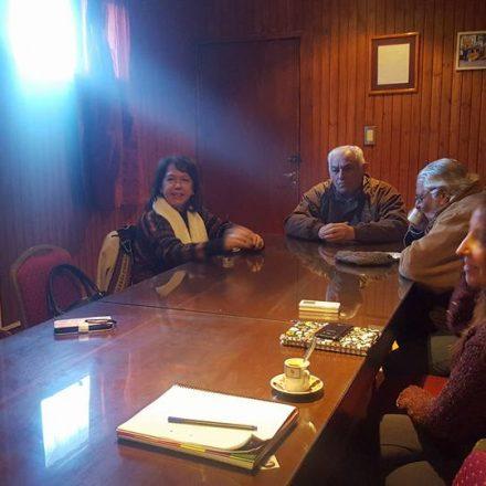 Sonia Escudero se reunió con el Intendente de La Merced