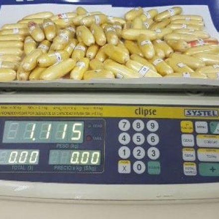 Detectan a un «mula» con más de 1 kilo de cocaína en su cuerpo