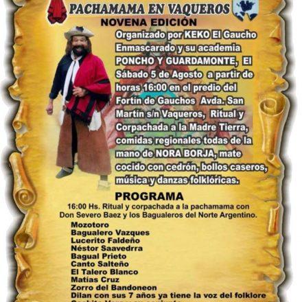 9º Despertando a la Pachamama en Vaqueros – Salta