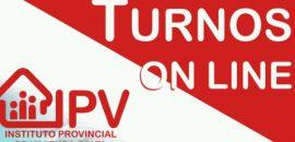 El IPV reabre la atención al público con turnos programados y reservados desde su sitio web