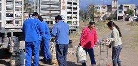 La Provincia garantiza la continuidad y distribución de la Garrafa Social