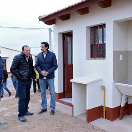 En Coronel Moldes el Gobierno construye 80 viviendas