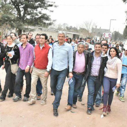 Zottos y Solís motivaron a los vecinos del sur a trabajar por el progreso de la provincia