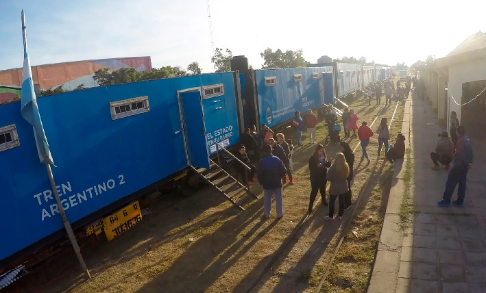 En Rosario de la Frontera: El Tren de Desarrollo Social y El Estado en tu Barrio