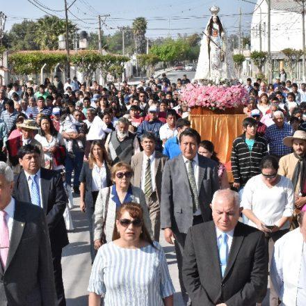 Pueblos del Valle de Lerma celebraron la fiesta en honor a la Virgen de La Merced