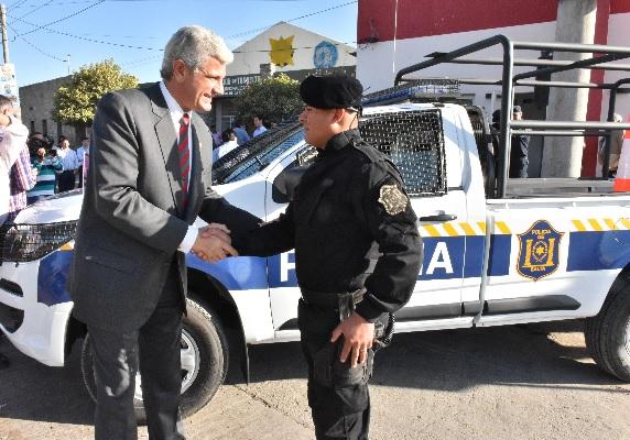 Nuevos móviles policiales para reforzar la seguridad de la ciudadanía del sur de la provincia