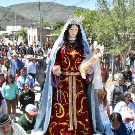 La Caldera: fiesta patronal en honor a la Virgen del Rosario y San José
