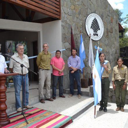 Inauguración de obras en Baritú y El Nogalar de los Toldos