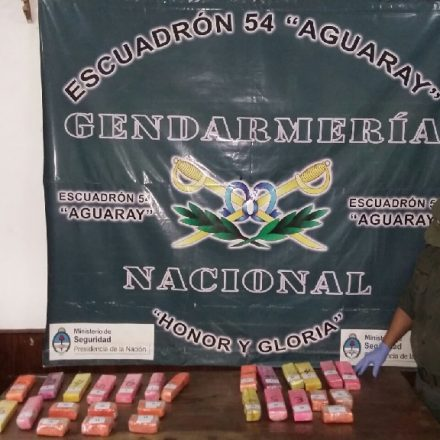 Detienen a un hombre que viajaba con 12 kilos de cocaína