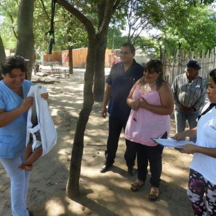 Operativo sociosanitario en comunidades originarias de Mosconi