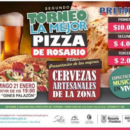 2º Torneo «La mejor pizza de Rosario» en Rosario de la Frontera