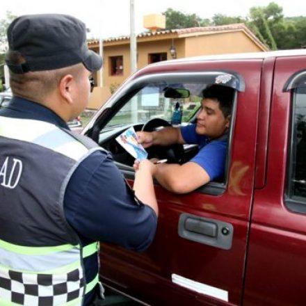 En el primer día de Serenata se controlaron alrededor de 2 mil vehículos