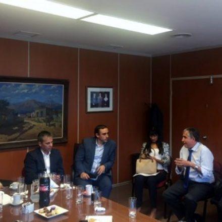 Asesores de Incapaces recibieron al Ministro Abeleira y al secretario Fernández