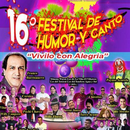 Mañana se realizará el lanzamiento de una nueva edición del Festival de Humor y Canto